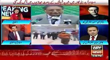 arshad sharif take class of Nawaz Sharif over pervaz Rasheed Reignationation