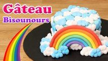 GÂTEAU BISOUNOURS SUPER KAWAII - CARE BEARS CAKE - CARL IS COOKING