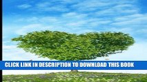Ebook Journal Daily: Green Heart Tree and Blue Sky, Lined Blank Journal Book, 6 x 9, 200 Pages