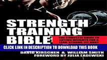 [FREE] EBOOK Strength Training Bible for Women: The Complete Guide to Lifting Weights for a Lean,