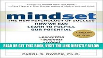 [READ] EBOOK Mindset: The New Psychology of Success BEST COLLECTION