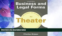 Big Deals  Business and Legal Forms for Theater, Second Edition  Best Seller Books Best Seller