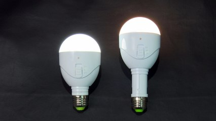 Lightbulbs that Automatically Light During a Power Outage