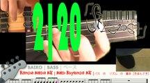 Basic Rhythmic BX 2   Rítmica Básica BX 2   二:ベース の リズム の 基本[きほんてき]