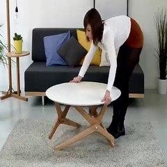 Olağanüstü tasarıma sahip ilginç masa tasarımı