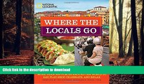 FAVORIT BOOK Where the Locals Go: More Than 300 Places Around the World to Eat, Play, Shop,