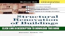 Best Seller Structural Renovation of Buildings: Methods, Details,   Design Examples Free Read