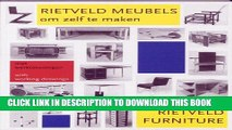 Ebook How to Construct Rietveld Furniture (Dutch Edition) Free Read