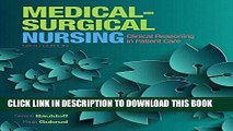 [FREE] EBOOK Medical-Surgical Nursing: Clinical Reasoning in Patient Care (6th Edition) (Medical