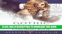 Ebook Gothic Minis - Pocket Sized Dark Fantasy Art Coloring Book (Fantasy Art Coloring by Selina)