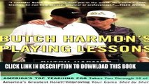 [BOOK] PDF Butch Harmon s Playing Lessons Collection BEST SELLER