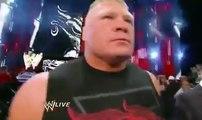 2016 Goldberg and Brock Lesnar returns Brock Lesnar face to face with Goldberg Full HD Wwe Raw 24/10