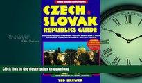 FAVORITE BOOK  Czech   Slovak Republics Guide: 2nd Edition (Open Road s Czech   Slovak Republics