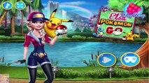 Elsa Pokemon Go - Disney Frozen Princess Games for Kids  #Kidsgames #Barbiegames