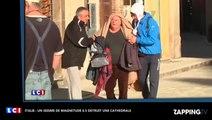 Séisme en Italie: Un nouveau tremblement détruit une cathédrale de Norcia, les images chocs (Vidéo)