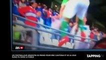 Un footballeur argentin se prend pour Eric Cantona et se la joue kung-fu dans le public (vidéo)