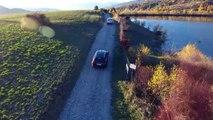 Alpes du Sud Les couleurs d'automne le bleu de Serre-Ponçon et celui Dici Embarquez !