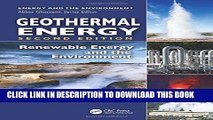 [Free Read] Geothermal Energy: Renewable Energy and the Environment, Second Edition Full Online