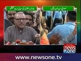 Arif Alvi and Imran Ismail talks to media-Exposing Nawaz and Modi's agenda
