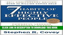 Ebook The 7 Habits of Highly Effective People: Powerful Lessons in Personal Change Free Read