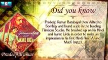 A Tribute To Pradeep Kumar l Biography l Indian Film Actor