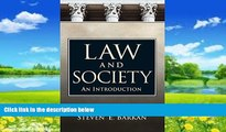 Books to Read  Law and Society: An Introduction  Full Ebooks Best Seller