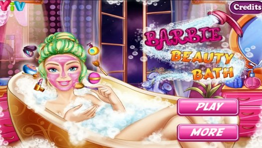 Barbie Beauty Bath - Game for Little Girls – Видео Dailymotion