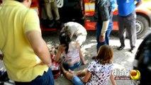 Exclusivo: acidente entre motos deixa duas pessoas feridas em Sousa