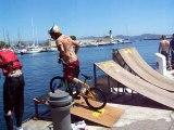 BMX - Water Jump LA CIOTAT 2007 by DR P1