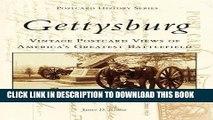 Read Now Gettysburg Postcards: Vintage Postcard Views of Americas Greatest Battlefield (Postcard