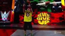 John Cena Vs Seth Rollins (Steel Cage Match) WWE RAW