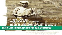 Read Now Missouri Slave Narratives: Slave Narratives from the Federal Writers  Project 1936-1938