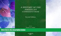 Big Deals  A History of the American Constitution (American Casebook)  Best Seller Books Best Seller