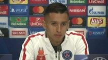 Foot - C1 - PSG : Marquinhos «Je suis très bien à Paris»