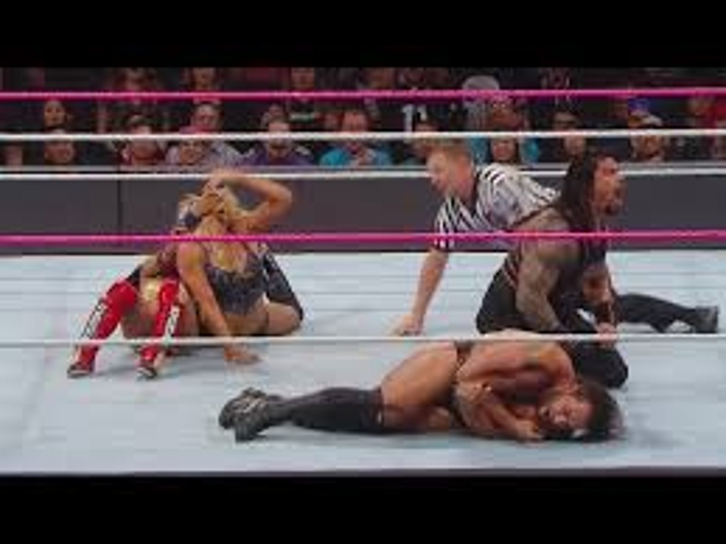 WWE Hell In A Cell 1st November 2016 Roman Reigns Rusev Lana Sasha Banks & Charlotte GO TO WAR I