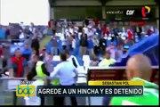 """Universitario de Deportes: Chale no oculta su enojo y llama """"miserable"""" a árbitro"""