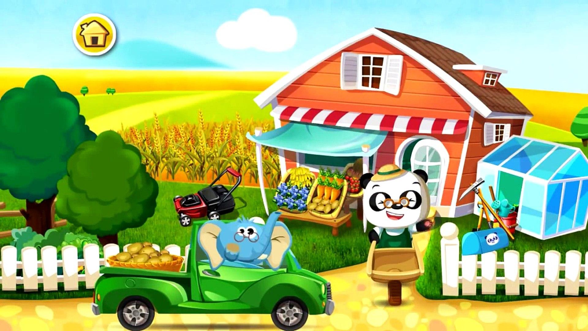 Сад доктора панды | овощи и фрукты | мультик игра детям # 2