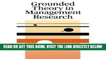 [READ] EBOOK Grounded Theory in Management Research (SAGE series in Management Research) BEST