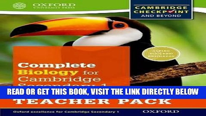 [READ] EBOOK Complete Biology for Cambridge Secondary 1 Teacher Pack: For Cambridge Checkpoint and