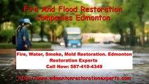 Fire And Flood Restoration Companies Edmonton