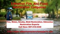 Edmonton Fire And Flood Restoration Companies