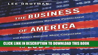 Ebook The Business of America is Lobbying How Corp
