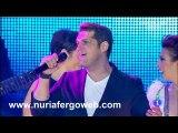 """Nuria Fergó: cantado """"Mi música es tu voz"""" en el concierto de """"OT. El Reencuentro"""""""