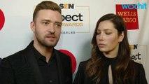 Jessica Biel Pokes Fun At Justin Timberlake Over Voting Selfie Scandal