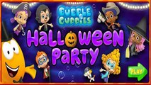 Bubble Guppies Halloween Party - Animated Cartoon Children Game Bubble Guppies Games To Play