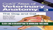 [FREE] EBOOK Color Atlas of Veterinary Anatomy, Volume 3, The Dog and Cat, 2e ONLINE COLLECTION
