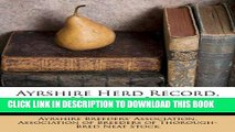 [FREE] EBOOK Ayrshire Herd Record, Volume 3... ONLINE COLLECTION