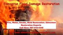 Edmonton Flood Damage Restoration