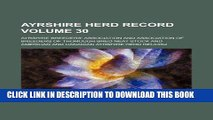 [FREE] EBOOK Ayrshire herd record Volume 30 BEST COLLECTION