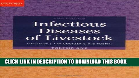 [READ] EBOOK Infectious Diseases of Livestock: 3-Volume Set BEST COLLECTION